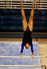 (Casey Brooke Lawson / Gator Country) Junior Miranda Smith competes on bars during the Gators victory over the Oklahoma Sooners in Gainesville, Fla., on January 9, 2009.
