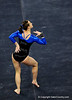 (Casey Brooke Lawson / Gator Country) Freshman Elizabeth Mahlich competes on floor during the Gators victory over the Oklahoma Sooners in Gainesville, Fla., on January 9, 2009.