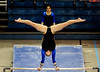 (Casey Brooke Lawson / Gator Country) Sophomore Alicia Goodwin competes on bars during the Gators victory over the Oklahoma Sooners in Gainesville, Fla., on January 9, 2009.