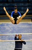 (Casey Brooke Lawson / Gator Country) Freshman Elizabeth Mahlich competes on bars during the Gators victory over the Oklahoma Sooners in Gainesville, Fla., on January 9, 2009.
