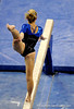 (Casey Brooke Lawson / Gator Country) Senior Corey Hartung competes on beam during the Gators victory over the Oklahoma Sooners in Gainesville, Fla., on January 9, 2009.