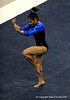 (Casey Brooke Lawson / Gator Country) Junior Melanie Sinclair competes on floor during the Gators victory over the Oklahoma Sooners in Gainesville, Fla., on January 9, 2009.