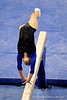 (Casey Brooke Lawson / Gator Country) Junior Amanda Castillo competes on beam during the Gators victory over the Oklahoma Sooners in Gainesville, Fla., on January 9, 2009.