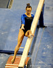 (Casey Brooke Lawson / Gator Country) Sophomore Alicia Goodwin competes on beam during the Gators victory over the Oklahoma Sooners in Gainesville, Fla., on January 9, 2009.
