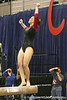 photo by Tim Casey<br /> <br /> Florida freshman Elizabeth Mahlich earns a 9.675 on the beam during the Gators' 195.925-193.850 win against the Kentucky Wildcats on Friday, January 30, 2009 at the Stephen C. O'Connell Center in Gainesville, Fla.