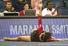 photo by Tim Casey<br /> <br /> Florida junior Maranda Smith earns a 9.85 on the floor exercise during the Gators' 195.925-193.850 win against the Kentucky Wildcats on Friday, January 30, 2009 at the Stephen C. O'Connell Center in Gainesville, Fla.