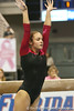 photo by Tim Casey<br /> <br /> Florida sophomore Alicia Goodwin earns a 8.275 on the beam during the Gators' 195.925-193.850 win against the Kentucky Wildcats on Friday, January 30, 2009 at the Stephen C. O'Connell Center in Gainesville, Fla.