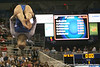photo by Tim Casey<br /> <br /> Florida freshman Elizabeth Mahlich earns a 9.875 on the floor exercise during the No. 1-ranked Gators' 196.50-196.25 win against the No. 4-ranked Auburn Tigers on on Friday, January 16, 2009 at the Stephen C. O'Connell Center in Gainesville, Fla.