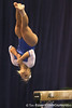 photo by Tim Casey<br /> <br /> Florida junior Courtney Gladys performs on the balance beam during the No. 1-ranked Gators' 196.50-196.25 win against the No. 4-ranked Auburn Tigers on on Friday, January 16, 2009 at the Stephen C. O'Connell Center in Gainesville, Fla.