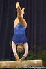photo by Tim Casey<br /> <br /> Florida freshman Kailey Tissue performs on the balance beam during the No. 1-ranked Gators' 196.50-196.25 win against the No. 4-ranked Auburn Tigers on on Friday, January 16, 2009 at the Stephen C. O'Connell Center in Gainesville, Fla.
