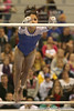 photo by Tim Casey<br /> <br /> Florida junior Amanda Castillo earns a 9.875 during the No. 1-ranked Gators' 196.50-196.25 win against the No. 4-ranked Auburn Tigers on on Friday, January 16, 2009 at the Stephen C. O'Connell Center in Gainesville, Fla.
