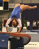 photo by Tim Casey<br /> <br /> Florida junior Maranda Smith earns a 9.9 on the vault during the No. 1-ranked Gators' 196.50-196.25 win against the No. 4-ranked Auburn Tigers on on Friday, January 16, 2009 at the Stephen C. O'Connell Center in Gainesville, Fla.