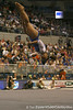 photo by Tim Casey<br /> <br /> Florida junior Melanie Sinclair earns a 9.875 on the floor exercise during the No. 1-ranked Gators' 196.50-196.25 win against the No. 4-ranked Auburn Tigers on on Friday, January 16, 2009 at the Stephen C. O'Connell Center in Gainesville, Fla.