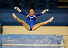 (Casey Brooke Lawson / Gator Country) Amanda Castillo competes on bars during the Gators gymnastics meet against Alabama on Friday, February 20, 2009.