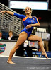 (Casey Brooke Lawson / Gator Country) Courtney Gladys competes on floor during the Gators gymnastics meet against Alabama on Friday, February 20, 2009.
