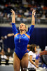 (Casey Brooke Lawson / Gator Country) Courtney Gladys competes on vault during the Gators gymnastics meet against Alabama on Friday, February 20, 2009.