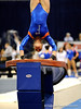 (Casey Brooke Lawson / Gator Country) Elizabeth Mahlich competes on vault during the Gators gymnastics meet against Alabama on Friday, February 20, 2009.