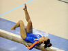 (Casey Brooke Lawson / Gator Country) Miranda Smith competes on beam during the Gators gymnastics meet against Alabama on Friday, February 20, 2009.