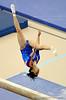 (Casey Brooke Lawson / Gator Country) Amanda Castillo competes on beam during the Gators gymnastics meet against Alabama on Friday, February 20, 2009.