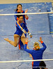 (Casey Brooke Lawson / Gator Country) Miranda Smith competes on bars during the Gators gymnastics meet against Alabama on Friday, February 20, 2009.
