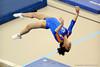(Casey Brooke Lawson / Gator Country) Amanda Castillo warms up on beam during the Gators gymnastics meet against Alabama on Friday, February 20, 2009.