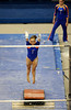 (Casey Brooke Lawson / Gator Country) Alicia Goodwin competes on bars during the Gators gymnastics meet against Alabama on Friday, February 20, 2009.