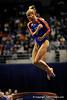 (Casey Brooke Lawson / Gator Country) UF senior Corey Hartung competes on vault during the Gators gymnastics meet against Alabama on Friday, February 20, 2009.