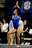 (Casey Brooke Lawson / Gator Country) Elizabeth Mahlich competes on floor during the Gators gymnastics meet against Alabama on Friday, February 20, 2009.