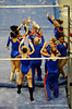 (Casey Brooke Lawson / Gator Country) Elizabeth Mahlich competes on bars during the Gators gymnastics meet against Alabama on Friday, February 20, 2009.