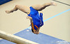 (Casey Brooke Lawson / Gator Country) Elizabeth Mahlich competes on beam during the Gators gymnastics meet against Alabama on Friday, February 20, 2009.