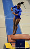 Melanie Sinclair competes on the vault during the University of Florida Gators gymnastics meet against the University of Michigan Wolverines on Friday, March 6, 2009 in the Steven C. O'Connell Center. / Gator Country photo by Casey Brooke lawson