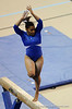 Melanie Sinclair competes on the beam during the University of Florida Gators gymnastics meet against the University of Michigan Wolverines on Friday, March 6, 2009 in the Steven C. O'Connell Center. / Gator Country photo by Casey Brooke lawson