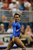 Maranda Smith competes on the floor during the University of Florida Gators gymnastics meet against the University of Michigan Wolverines on Friday, March 6, 2009 in the Steven C. O'Connell Center. / Gator Country photo by Casey Brooke lawson