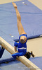 Ashley Kerr competes on the beam during the University of Florida Gators gymnastics meet against the University of Michigan Wolverines on Friday, March 6, 2009 in the Steven C. O'Connell Center. / Gator Country photo by Casey Brooke lawson