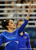 Amanda Castillo competes on the floor during the University of Florida Gators gymnastics meet against the University of Michigan Wolverines on Friday, March 6, 2009 in the Steven C. O'Connell Center. / Gator Country photo by Casey Brooke lawson