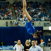 Florida sophomore Alaina Johnson performs on bars during the Gators' 197.525, 196.825  win against the Georgia Bulldogs on Friday, February 24, 2012 at the Stephen C. O'Connell Center in Gainesville, Fla. / Gator Country photo by Saj Guevara