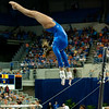 Florida sophomore Mackenzie Caquatto performs on bars during the Gators' 197.525, 196.825  win against the Georgia Bulldogs on Friday, February 24, 2012 at the Stephen C. O'Connell Center in Gainesville, Fla. / Gator Country photo by Saj Guevara