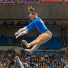 Florida freshman Kytra Hunter performs on bars during the Gators' 197.525, 196.825  win against the Georgia Bulldogs on Friday, February 24, 2012 at the Stephen C. O'Connell Center in Gainesville, Fla. / Gator Country photo by Saj Guevara