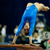 Florida sophomore Alaina Johnson performs on vault during the Gators' 197.525, 196.825  win against the Georgia Bulldogs on Friday, February 24, 2012 at the Stephen C. O'Connell Center in Gainesville, Fla. / Gator Country photo by Saj Guevara