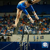 Florida junior Marissa King performs on bars during the Gators' 197.525, 196.825  win against the Georgia Bulldogs on Friday, February 24, 2012 at the Stephen C. O'Connell Center in Gainesville, Fla. / Gator Country photo by Saj Guevara