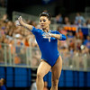 Florida junior Marissa King performs on the balance beam during the Gators' 197.525, 196.825  win against the Georgia Bulldogs on Friday, February 24, 2012 at the Stephen C. O'Connell Center in Gainesville, Fla. / Gator Country photo by Saj Guevara