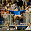 Florida junior Randy Stageberg performs on floor during the Gators' 197.525, 196.825  win against the Georgia Bulldogs on Friday, February 24, 2012 at the Stephen C. O'Connell Center in Gainesville, Fla. / Gator Country photo by Saj Guevara