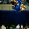 Florida senior Nicole Ellis performs on the vault during the Gators' 197.525, 196.825  win against the Georgia Bulldogs on Friday, February 24, 2012 at the Stephen C. O'Connell Center in Gainesville, Fla. / Gator Country photo by Saj Guevara
