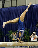Florida freshman Kytra Hunter performs on the balance beam during the Gators' 196.175-191.875 win against the Illinois-Chicago Flames on Friday, January 13, 2012 at the Stephen C. O'Connell Center in Gainesville, Fla. / Gator Country photo by Tim Casey