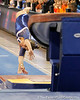 Florida senior Nicole Ellis performs on the vault during the Gators' 196.175-191.875 win against the Illinois-Chicago Flames on Friday, January 13, 2012 at the Stephen C. O'Connell Center in Gainesville, Fla. / Gator Country photo by Tim Casey