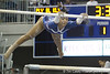 Florida freshman Kytra Hunter performs on the uneven parallel bars during the Gators' 196.175-191.875 win against the Illinois-Chicago Flames on Friday, January 13, 2012 at the Stephen C. O'Connell Center in Gainesville, Fla. / Gator Country photo by Tim Casey