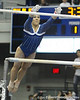 Florida junior Marissa King performs on the uneven parallel bars during the Gators' 196.175-191.875 win against the Illinois-Chicago Flames on Friday, January 13, 2012 at the Stephen C. O'Connell Center in Gainesville, Fla. / Gator Country photo by Tim Casey