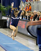 Florida freshman Kiersten Wang performs on the vault during the Gators' 196.175-191.875 win against the Illinois-Chicago Flames on Friday, January 13, 2012 at the Stephen C. O'Connell Center in Gainesville, Fla. / Gator Country photo by Tim Casey
