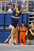 Florida junior Randy Stageberg performs on the floor exercise during the Gators' 196.175-191.875 win against the Illinois-Chicago Flames on Friday, January 13, 2012 at the Stephen C. O'Connell Center in Gainesville, Fla. / Gator Country photo by Tim Casey