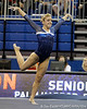 Florida senior Amy Ferguson performs on the floor exercise during the Gators' 196.175-191.875 win against the Illinois-Chicago Flames on Friday, January 13, 2012 at the Stephen C. O'Connell Center in Gainesville, Fla. / Gator Country photo by Tim Casey